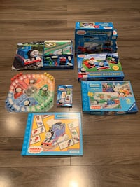 7 Assorted Thomas the train games Laval, H7K 2V5