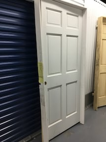 "36/80"" 6 PANEL SOLID PREHUNG DOOR"