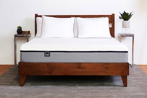King size Lull mattress and bed frame