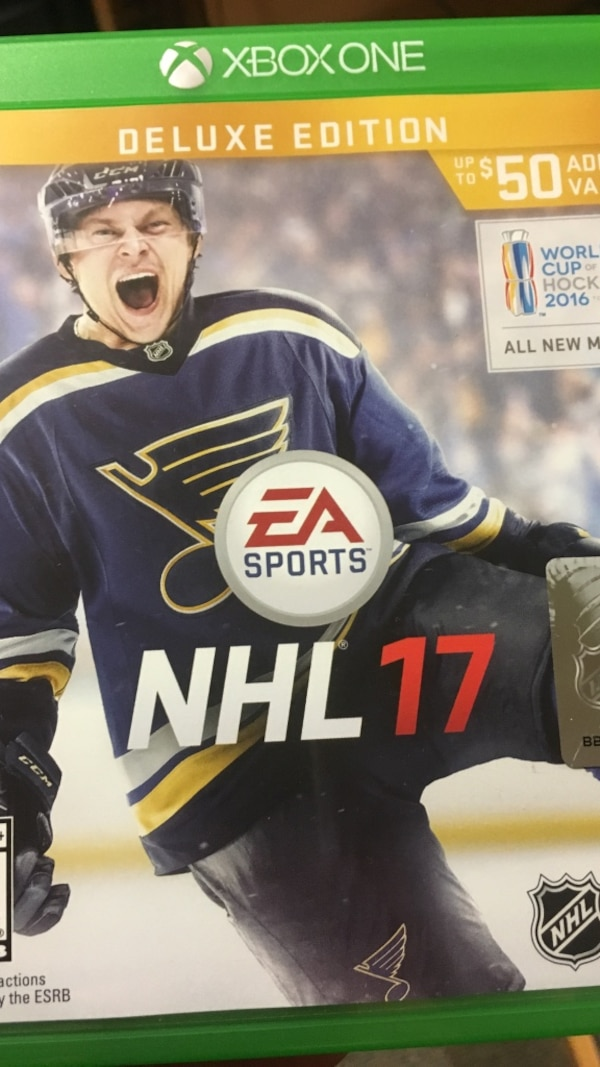 Used Xbox One Nhl 17 For Sale In Bossier City Letgo