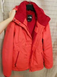the north face red zip-up jacket London, N6H 5R6
