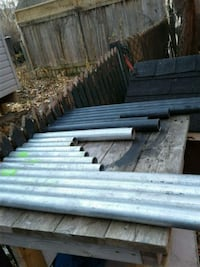 Assorted short lengths steel pipe 569 km
