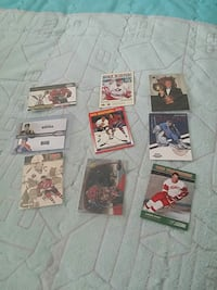 assorted hockey players trading cards Toronto, M2N