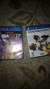 two PS4 game case and two PS4 game cases Laurel, 20724