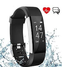Fitness Tracker Waterproof Bracelet Heart Rate Health iPhone Android Mississauga, L5V