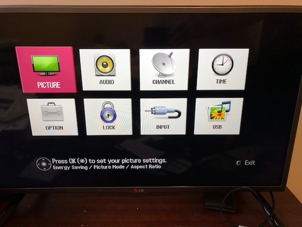 "LG 32"" TV has to go!"