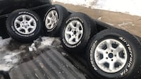 Rims for chevy 4.5 size 15 good condition s10 blaizer gmc jimmy Hampstead, 21074