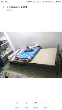 Best quality single bed. Want to sell as moving. Chennai, 600037
