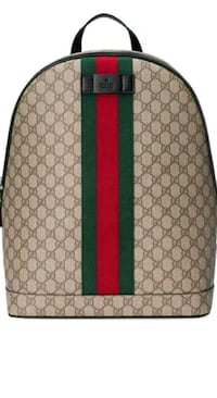 brown and green Gucci backpack Lithonia, 30038