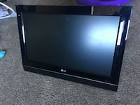 black LG flat screen TV Falls Church, 22041