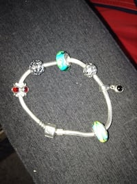 925 Sterling Silver Bracelet the Diamond and Ruby One we almost paid $100 for it Kelowna, V1W 3T6