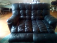 blue leather 2-seat recliner sofa Mount Airy, 21771