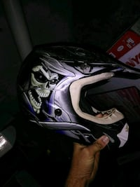 black and white motocross helmet Hagerstown, 21740