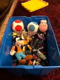 75 item toy care package