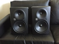 Mackie HR824 MKII speaker monitors