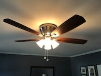 Hampton bay ceiling fan and light Silver Spring, 20905