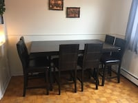 Tall dining room table