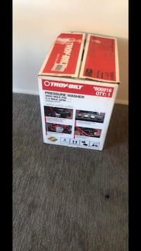 red and white Coleman portable generator box San Francisco, 94107