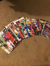 Assorted-title comic book lot Albuquerque, 87113