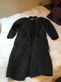 Leather coat by Innovations Izzy coat North Reading