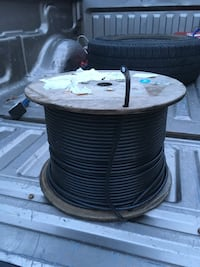 Spool of cable for internet or sat tv 901 mi