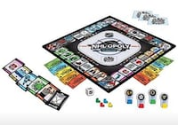 Masterpieces NHL-Opoly Jr. Board Game (MPC41646) Montreal, H3X 1L8