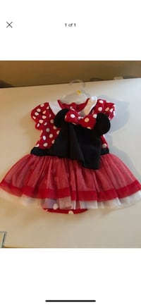 Size 12-18 month Mickey Mouse costume with hat  Independence, 70443