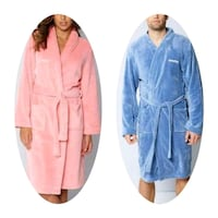 Personalised Mens /laddies Super-soft Robe Greater London, IG11 9JU