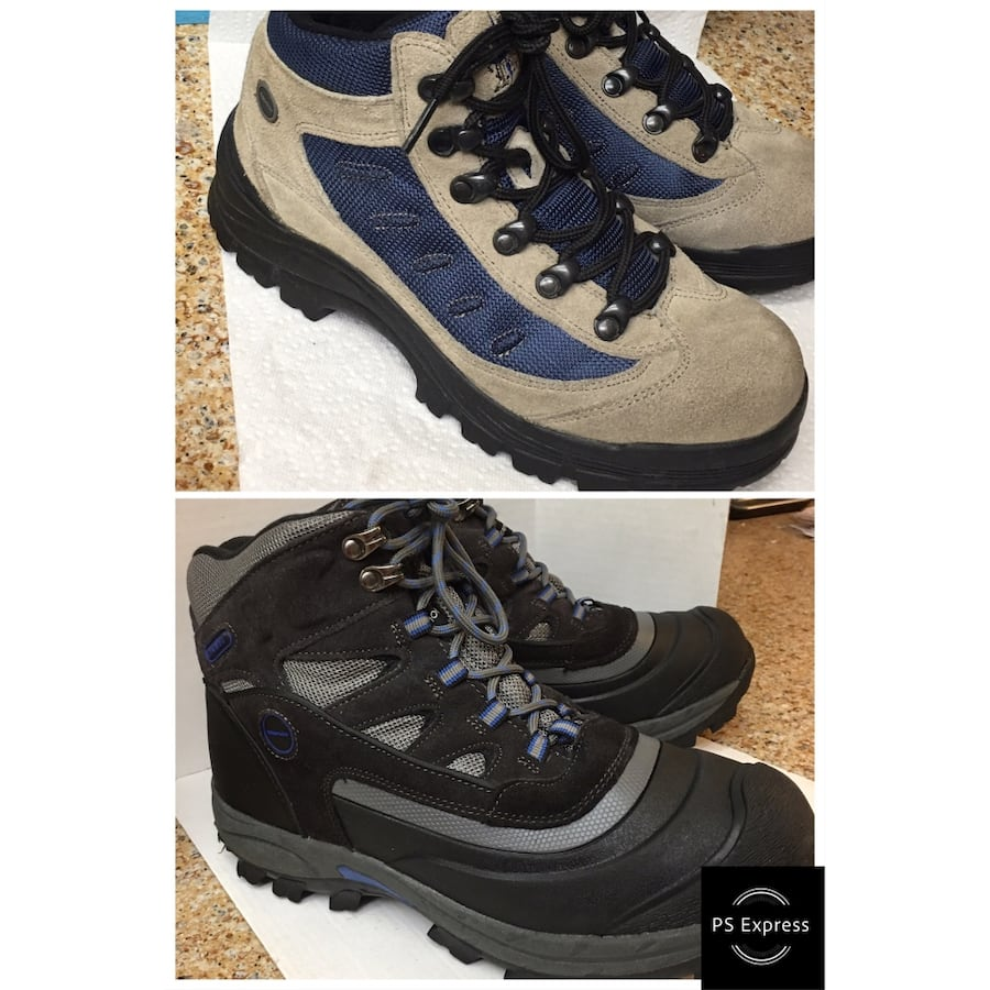 Like new Men's hiking snow boots