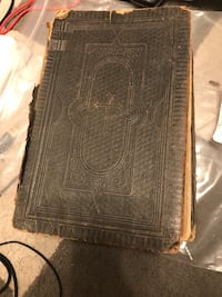 Black leather German bible from the late 1800's Bradenton, 34203