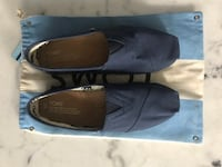 Toms Navy Mens 9 Port Moody, V3H 0B1