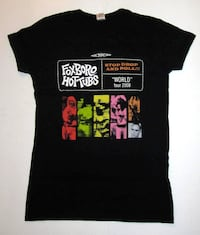 FOXBORO HOT TUBS STOP DROP AND ROLL 2008 LADIES T-SHIRT, GREEN DAY, PUNK Toronto