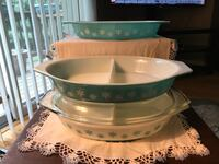 Pyrex Snowflake Divided Dishes's  Derby, 06418