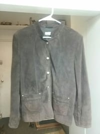 David brooks suede jacket