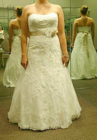 David's Bridal Wedding Gown Spring Hill, 34608