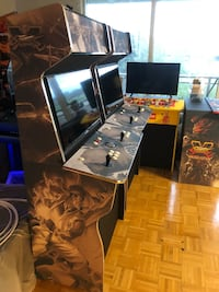 Arcade street fighter theme Toronto, M9C