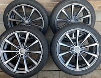 4 x 245/40/18 OEM AUDI RIMS WITH PIRELLI TIRES  $$$$950 Kitchener