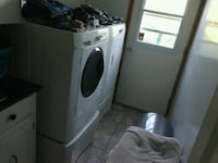 white front-load washer and dryer set Brampton, L7A 0C2