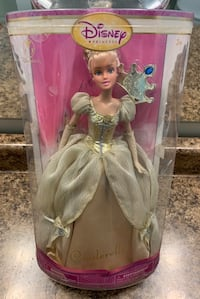 Disney Princess Cinderella Gold Doll Markham