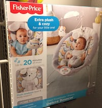 Deluxe bouncer Fisher-Price brand new never open Fairfax, 22033