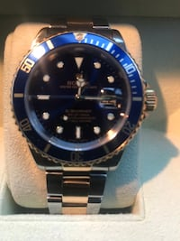 GENUINE-ROLEX SUBMARINER BLUE DIAL Burtonsville