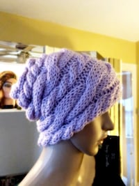 Brand new Lavender knitted hat Providence, 02907