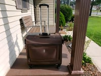 Delsey rolling suitcase