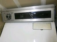 white and black front load washing machine Elk Grove, 95758