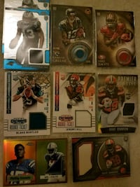 Football autographs game-used pieces and rookies Nashville, 37076