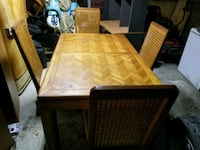 Solid Wood Kitchen Table with 6 Chairs  Kinston, 28504