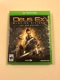 Deus ex xbox one game South Jordan, 84095