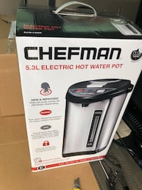 ChefMastet Instant Electric Hot Water Pot 5.3 Litres. Toronto, M9W 2W2