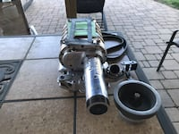 Blower for small block Chevy with pre Vortec heads. Will fit under the hoods of most vehicles without modifications. Complete set up   Boonsboro, 21713