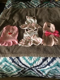 Dog dresses,Pajamas,harnesses,leashes,shoes,sweaters